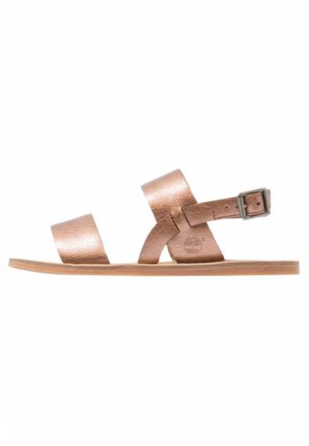 Timberland: CAROLISTA  - Riemensandalette - copper metallic