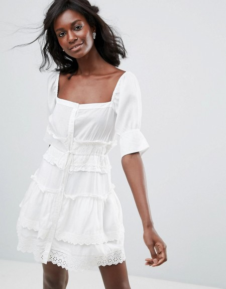 Majorelle - Rochelle - Kleid - Weiß