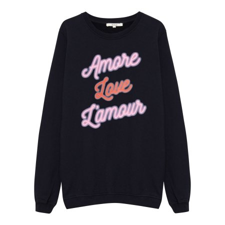 Oh Yeah! Clothing: Amore Sweater Black