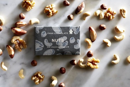 Pana Chocolate Nuts 45 gram Bar