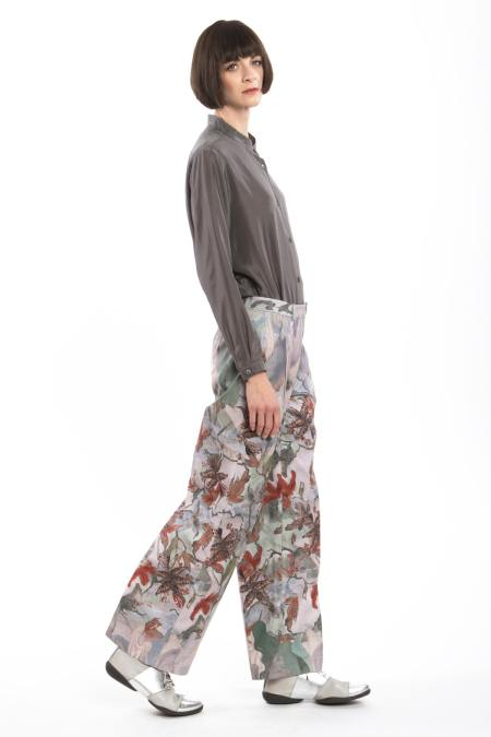 Clara Kaesdorf: Marlene Pants Flower-Red