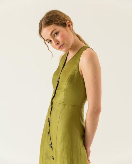 IVY & OAK: Kleid mit Knopfdetails