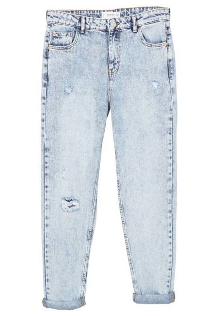 Mango: Mom - Jeans Relaxed Fit - Bleach Blue