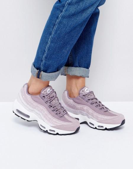 Nike - Premium Air Max 95 - Sneaker in Violett - Violett