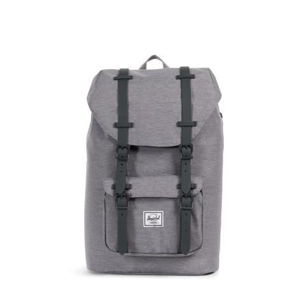 Herschel Little America Mid-Vol. Backpack Mid Grey Crosshatch Rucksack