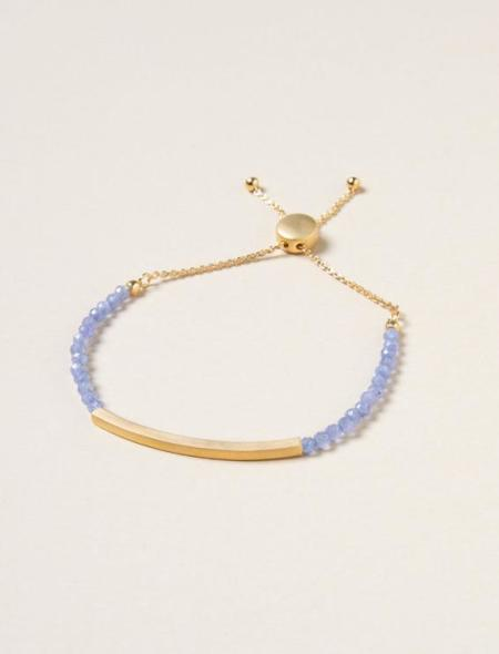 Soul Zen Studio: Tansanit Steg Armband