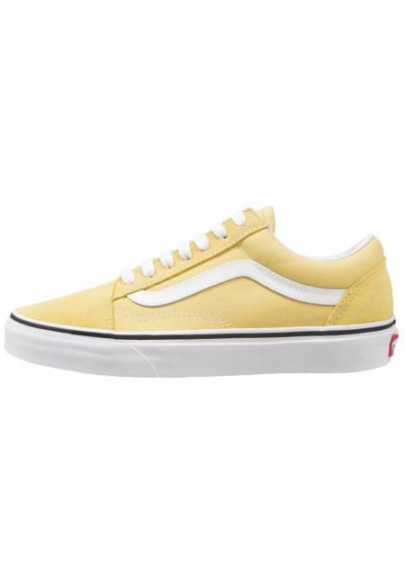 Vans: UA OLD SKOOL - Sneaker low - dusky citron/true white