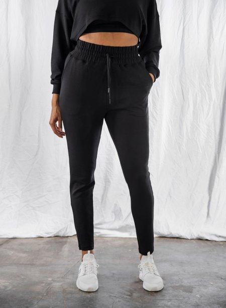 Aim'n: Black Comfy Sweatpants