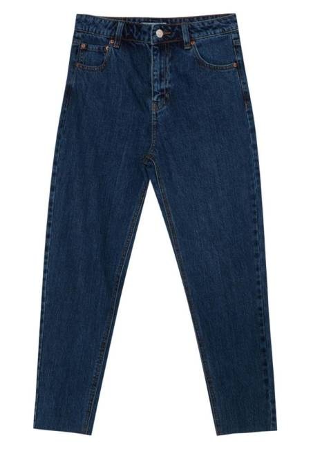 PULL&BEAR: Jeans Relaxed Fit - dark blue