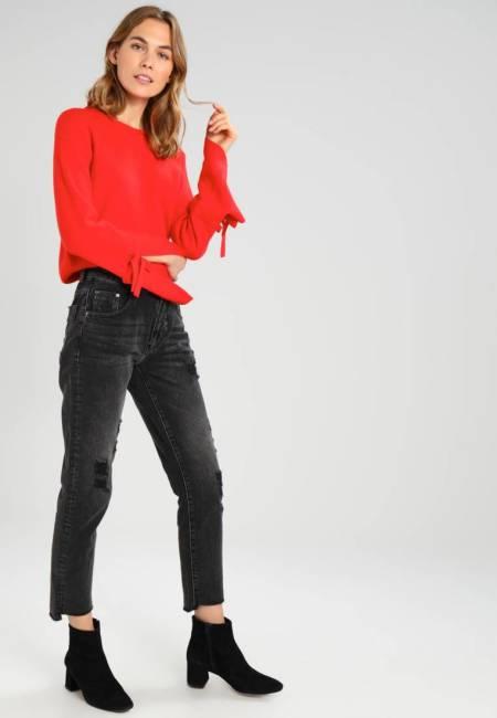 One teaspoon: DOUBLE BASS HIGH WAIST AWESOME BAGGIES - Jeans Straight Leg - double bass
