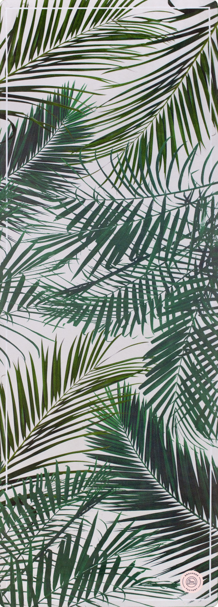 Grounded Factory: Palm Springs Green Yoga Mat