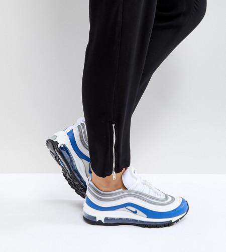 Nike - Air Max 97 - Sneaker in Weiß und Blau - Weiß