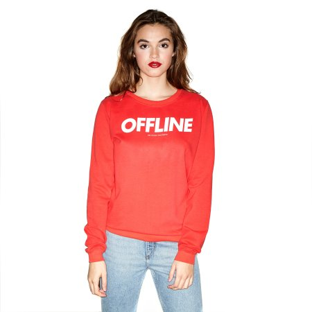 Oh Yeah! Clothing: Offline Sweater Red