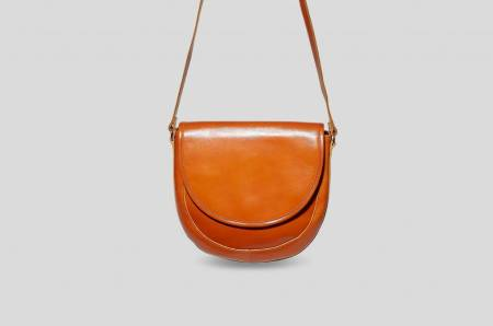 Banzak: Braune Saddle Bag