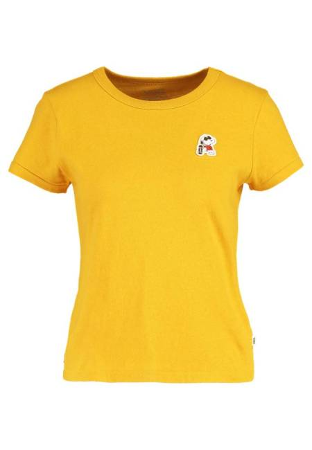 Vans: PEANUTS - JOE COOL - T-Shirt print - mineral yellow