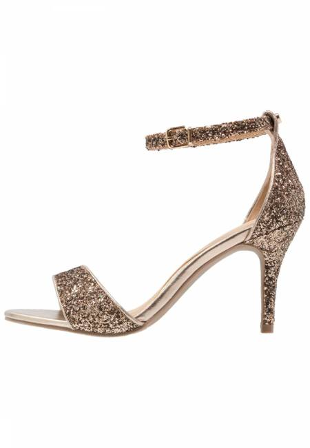 Head over Heels by Dune: MORAA - High Heel Sandaletten - bronze