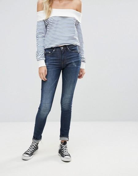 Blend She - Djanko - Skinny-Jeans - Navy
