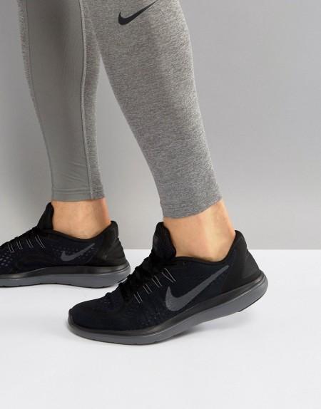 Nike Running - Flex 2017 - Schwarze Sneaker, 898457-005 - Schwarz