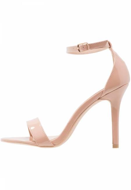 Glamorous: High Heel Sandaletten - nude