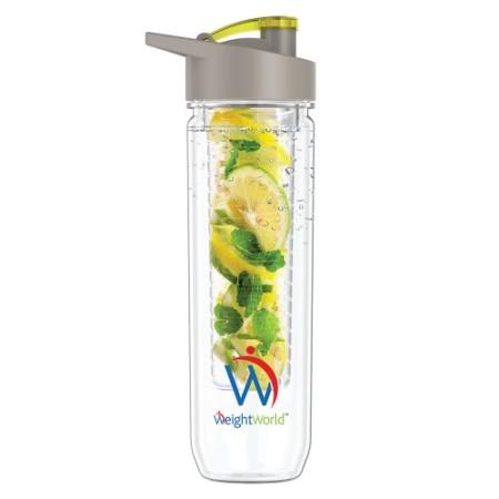 WeightWorld: Fruit Infuser Wasserflasche