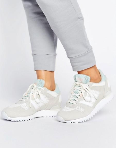 adidas: Adidas - ZX700W - Sneaker - Weiß