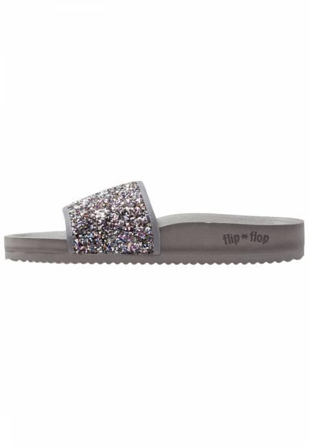 flip*flop: POOL GLITTER - Pantolette flach - multicolor
