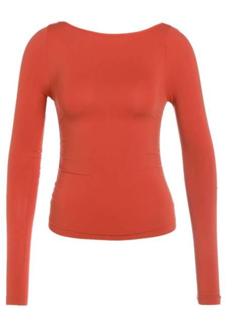 Free People: LOW BACK LAYERING - Langarmshirt - orange