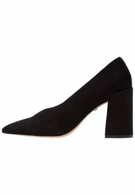 Topshop: GRETAL V CUT FLARE - High Heel Pumps - black