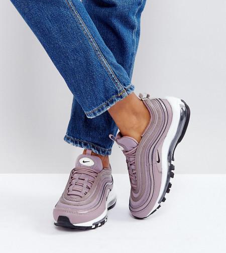Nike - Air Max 97 Premium - Sneaker in Braungrau - Grau