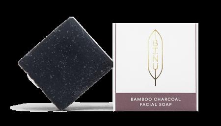 BINU Bamboo Charcoal Facial Soap