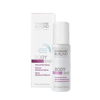ANNEMARIE BÖRLIND: BODY lind Natural Deo Spray, 75ml