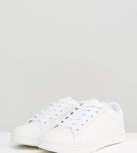 Truffle Collection - Breite Sneaker - Weiß