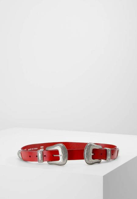 Topshop: BILLY DOUBLE - Taillengürtel - red