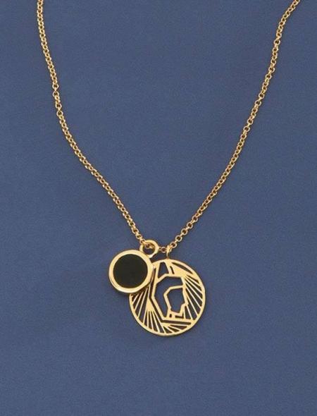 Soul Zen Studio: Jungfrau Amulett Sternzeichen Kette