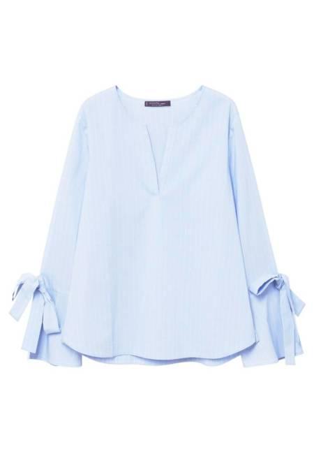 Violeta by Mango: Bluse - blue