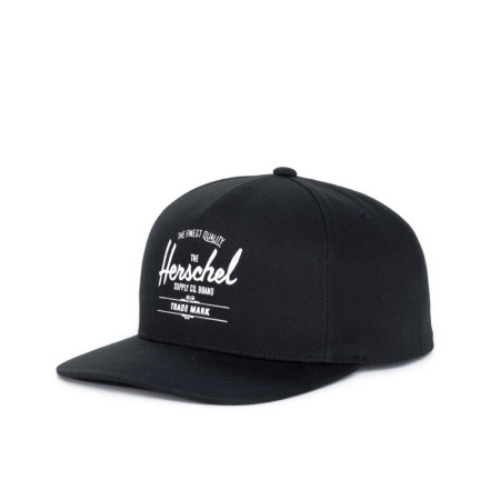 Herschel Whaler Caps Black/Schwarz Kappe