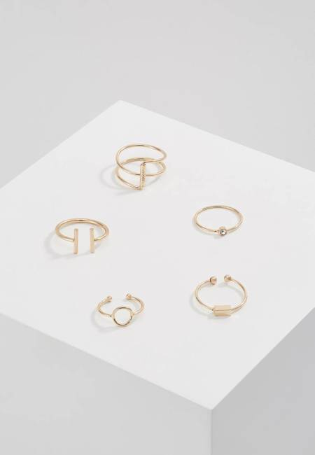 Ivyrevel: THYME 5 PACK - Ring - gold-coloured