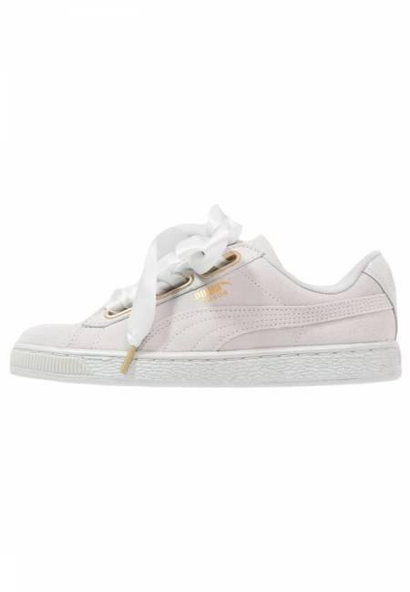 Puma: SUEDE HEART SATIN - Sneaker low - gray violet