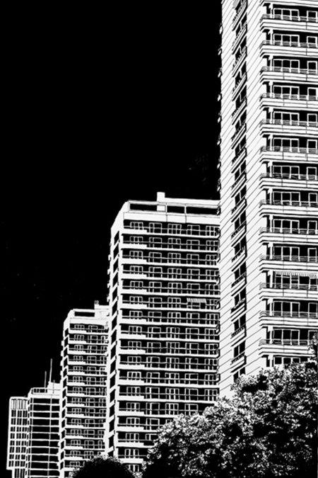 Blackout Cities: Leipziger Strasse Berlin