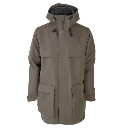 Tretorn Herren Arch Jacket Black Olive / Grün Mantel