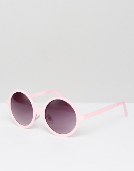 Jeepers Peepers - Runde Sonnenbrille in Rosa - Rosa