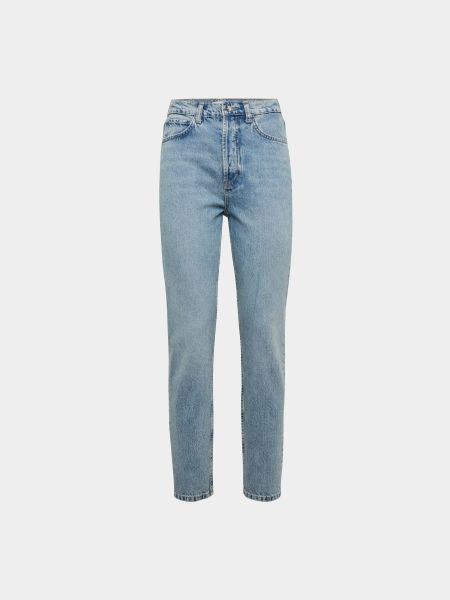 Anine Bing: Mom Jeans mit Label-Patch