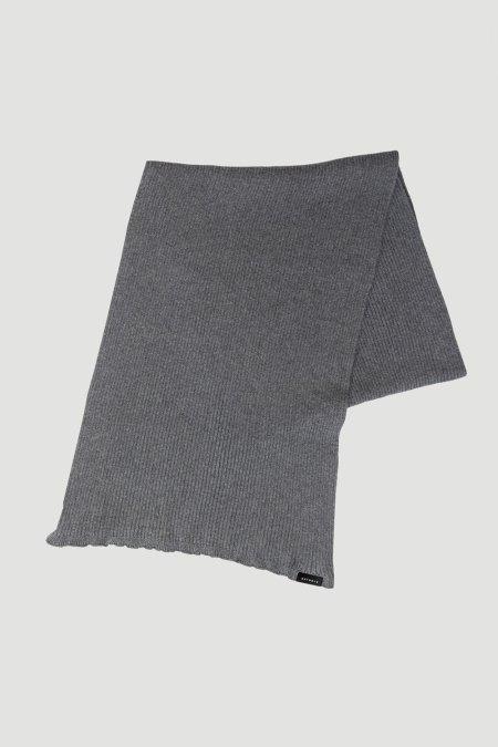 Rotholz: 'Oversized' Schal Grau