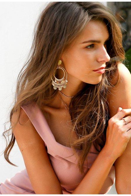 Fashion Movements: Multilayer bohemian drop big earrings