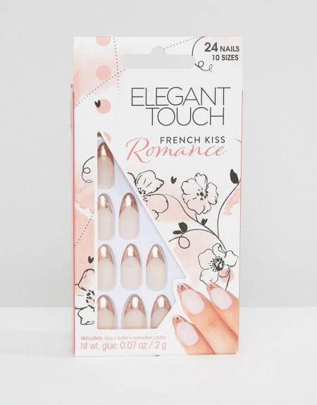 Elegant Touch - Romance Collection - French Kiss - Stiletto-Nägel - Beige