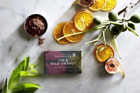Pana Chocolate Fig & Wild Orange 45 gram Bar