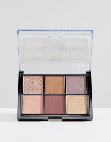 NYX Professional Makeup - Cosmic Metals - Lidschattenpalette - Mehrfarbig