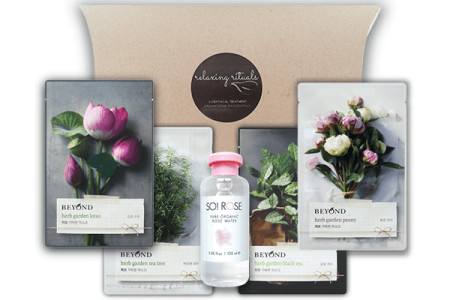Shishi Chérie   Asian Beauty Corner: RELAXING RITUALS   Verwöhnende 2-Schritte Gesichtspflege-Programm (5 Produkte in Originalgröße)