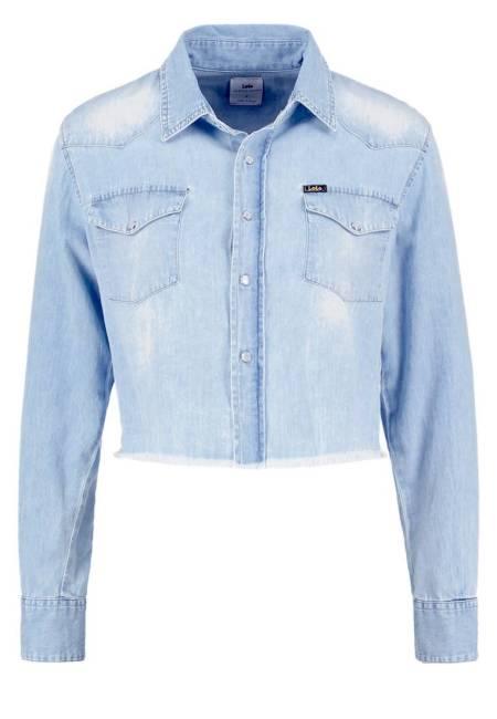 LOIS Jeans: LAURA - Hemdbluse - blurred stone