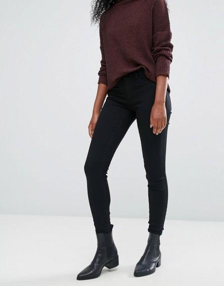 JDY - Skinny-Jeans - Schwarz